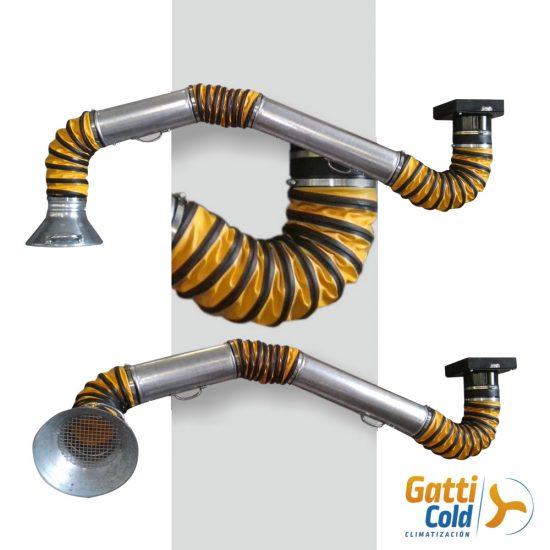 GattiCold brazos articulados